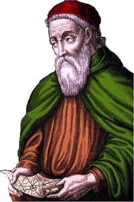 Ilustración de Américo Vespucio a color