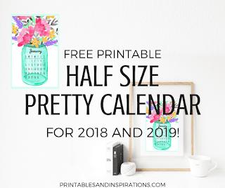2019 calendar to print