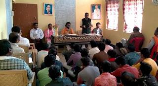 श्री राम जन्मभूमि तीर्थ क्षेत्र अयोध्या श्री राम मंदिर निर्माण को लेकर धनोरा उपखंड में बैठक सम्पन्न