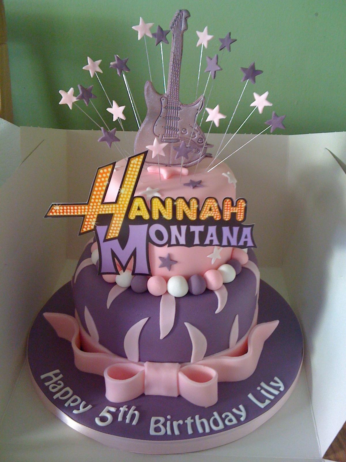 Cakes By Karen Hannah Montana Cake