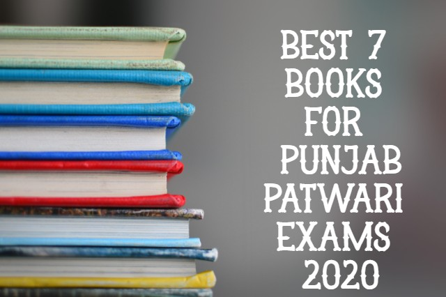 Best 7 Books for Punjab Patwari Exams Preparation 2020