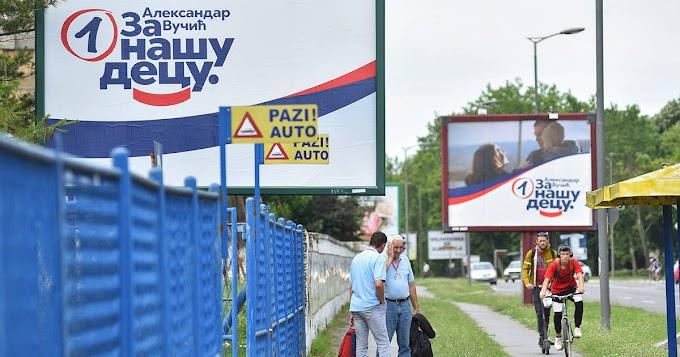 Szerbiai választás - Fölényesen győzött az SNS az első becslések szerint