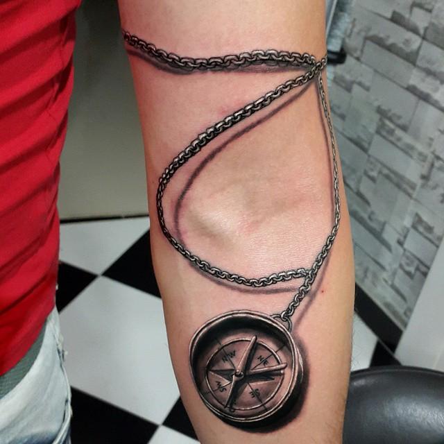 27 Amazing 3D Tattoo Ideas