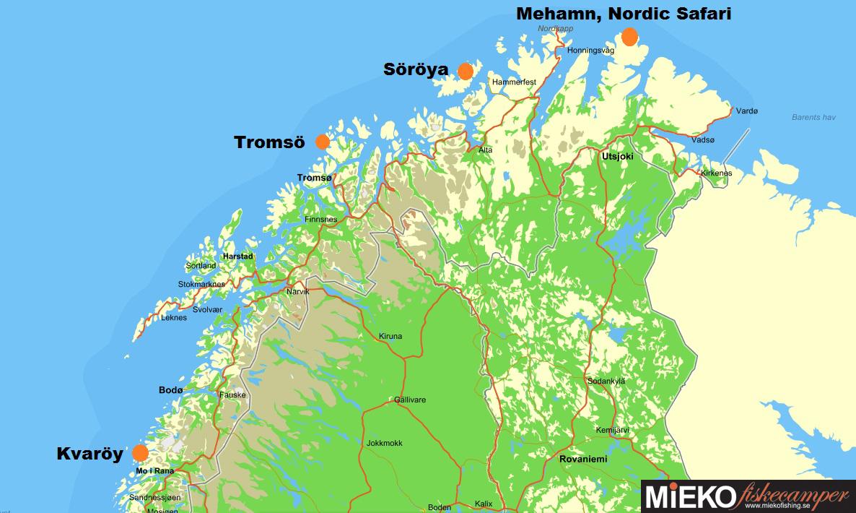 karta nordnorge Mieko Fiskeblogg: Mieko Fiskecamper utvecklas vidare karta nordnorge