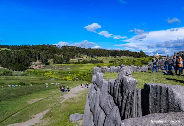 Templo de Sacsayhuaman, nos arredores de Cusco