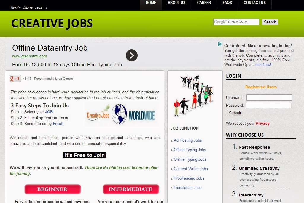 Jobs Jobs Picture: data entry jobs