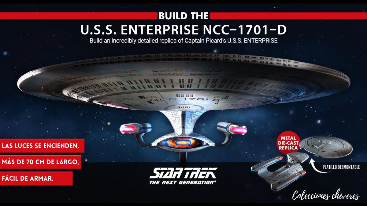 Build the U.S.S. ENTERPRISE NCC-170-D Eaglemoss Collections