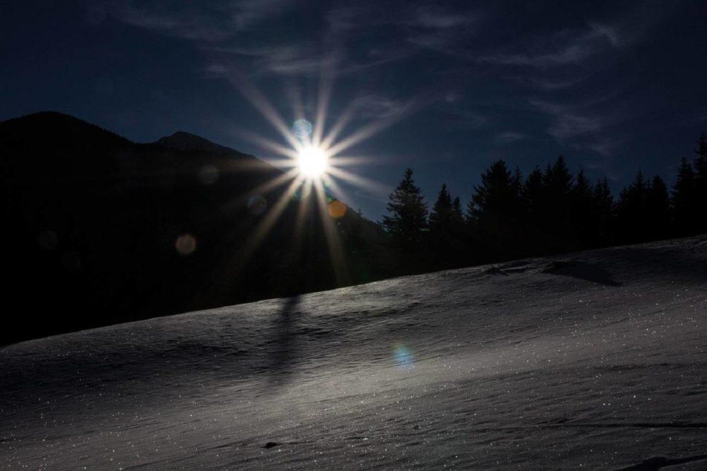 Night walk - Winter