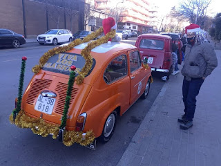 San Silvestre en coche clásico