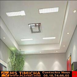 Decoration platre plafond maroc