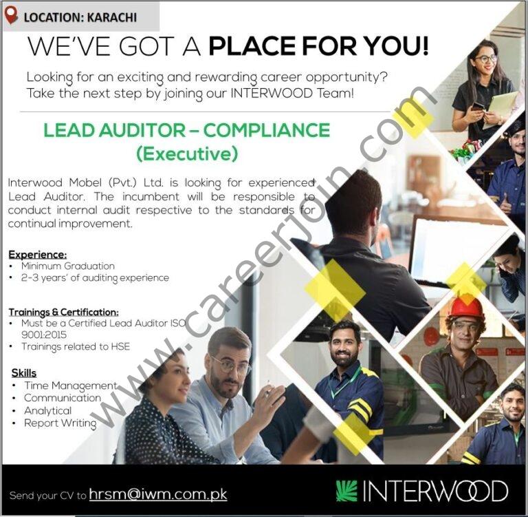 Jobs in Interwood Mobel Pvt Ltd