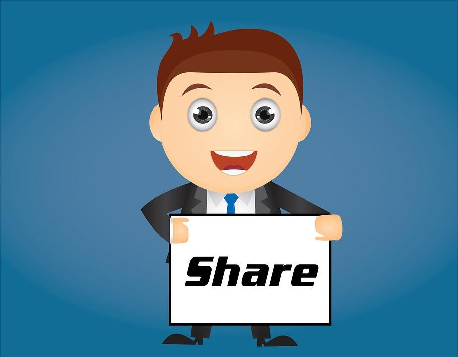 meningkatkan share via kontes