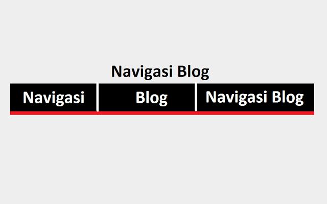 Cara Membuat Menu Navigasi Sebagaimana Evo Magz di Blog Cara Membuat Menu Navigasi Sebagaimana Evo Magz di Blog