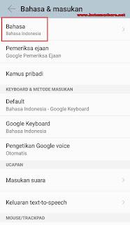 Merubah Suara Bahasa Navigasi Maps