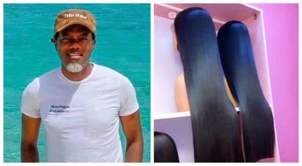 Invest in your brain not Bone Straight hair- Reno Omokri advises ladies