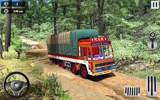 Offroad Indian Truck Cargo Delivery (offline games