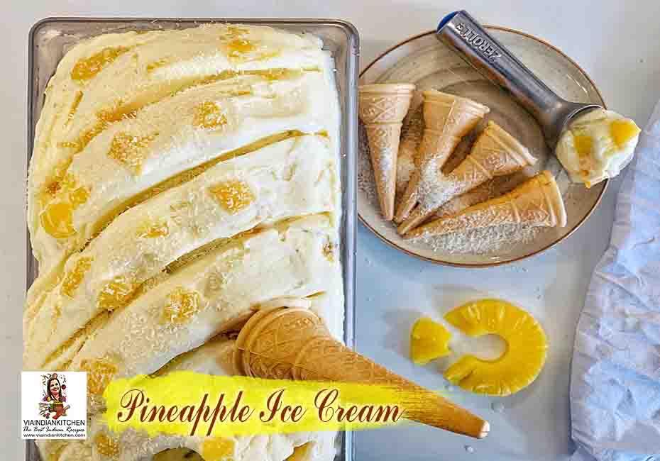 viaindiankitchen-pineapple-ice-cream