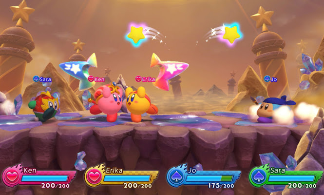 Kirby Fighters 2 gameplay