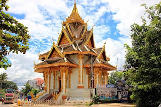 Templi Wat Si Muang (Vientiane, Laos)