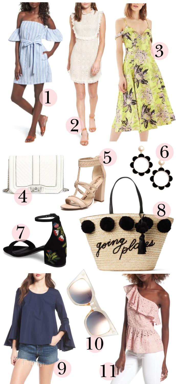 friday finds, dallas fashion blogger, sales guide, memorial day sales guide, summer sales guide, nordstrom sale, fashion blogger