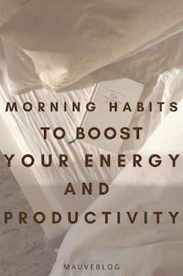 morning routine to boost your energy