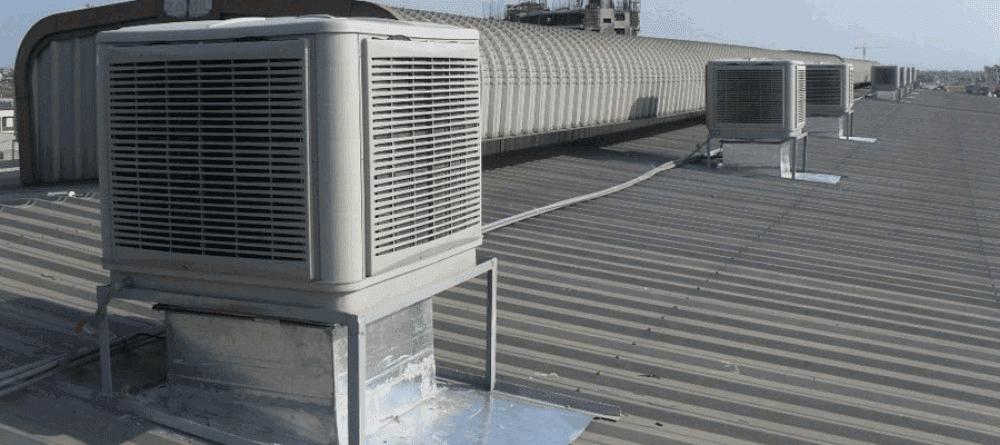 hệ thống làm mát nhà xưởng bằng hơi nước