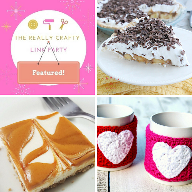 The Really Crafty Link Party #52 featured posts