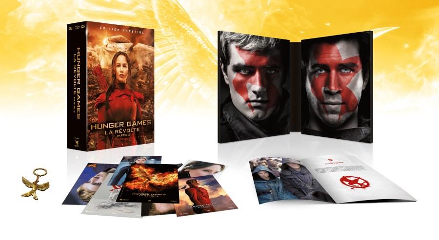 Hunger Games La Révolte Partie 2 - Edition Prestige