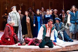 רומיאו ויוליה באופרה הישראלית - אפריל 2016