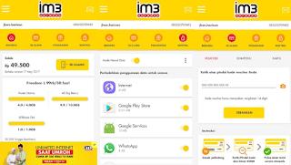 tampilan aplikasi my m3
