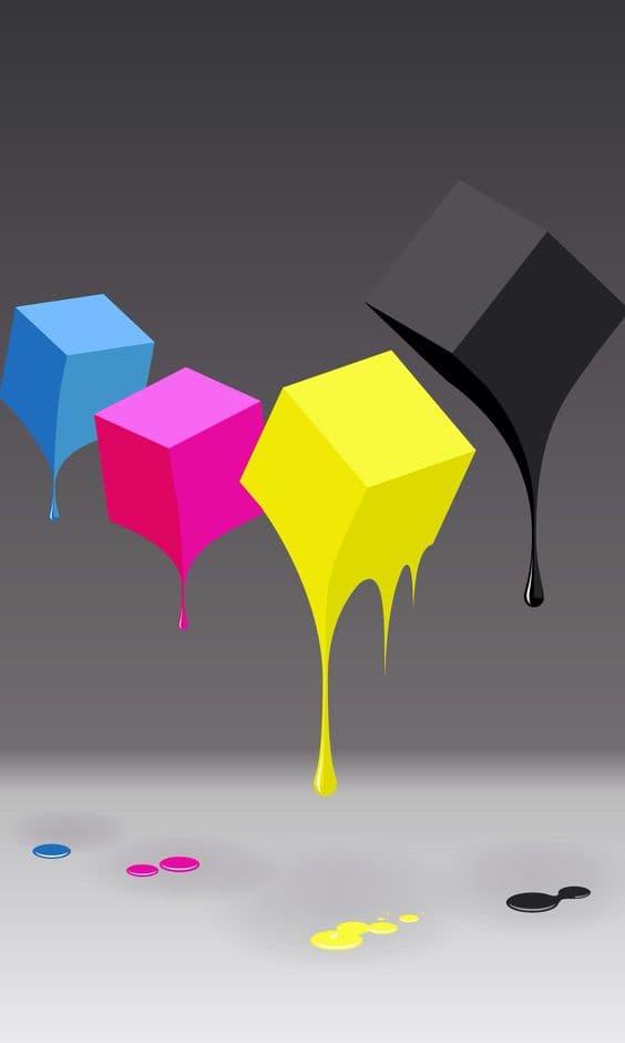 cubi colorati