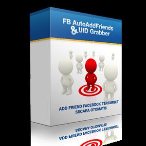 FB AutoAddFriend dan UID Grabber Adalah Software/tools untuk menambah teman Facebook tertarget secara otomatis