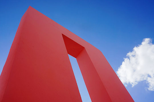 abstract, abstract photography, travel, Spain, architecture, Ricardo Bofill, La Muralla Roja, Sam Freek,