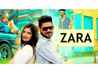 Zara Lyrics-Ansari Mohsin & Kanishka Choudhury