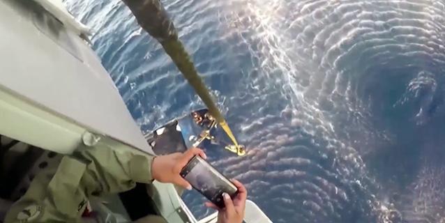 Ya casi llegaban a México con el cargamento pero Marina los intercepta desde helicóptero MI-17 en el caribe