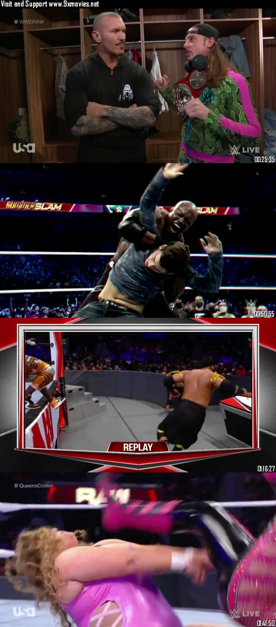WWE Monday Night Raw 11 October 2021 HDTV 720p 480p [1GB 500MB]