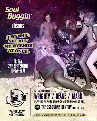 Soul Buggin'  Friday 24th September