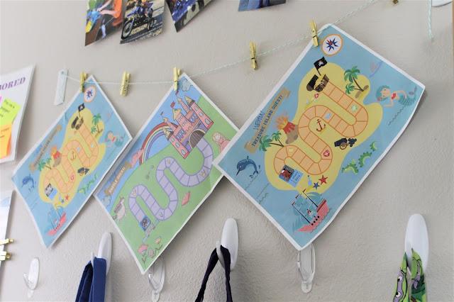 kids sorted chore charts