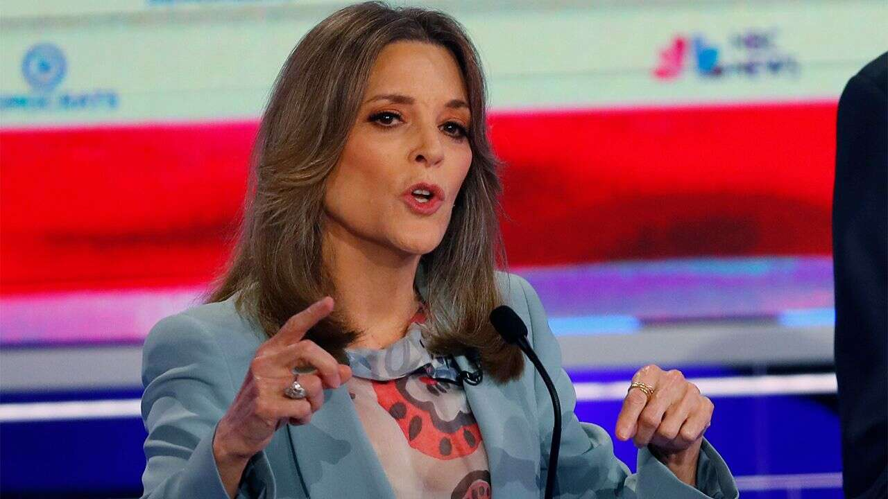 Marianne Williamson is Top searched U.S. 2020 Democratic candidate