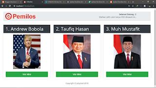 APLIKASI E_PEMILOS - E-Vote - Pemilihan Ketua Osis