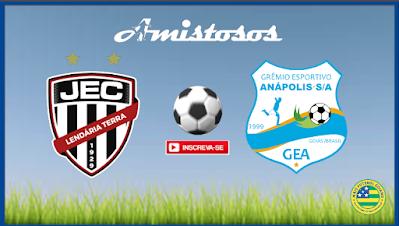 Jaraguá realiza amistoso nesta quarta feira (06) contra o Grêmio Anápolis