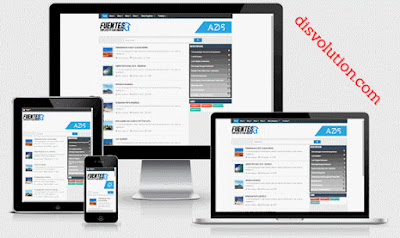 Template Terbaru 2017 Fuentes Blogger Seo Responsive Download Gratis