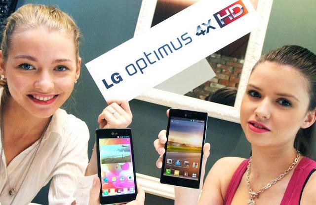 LG Optimus 4X HD com processador de quatro núcleos foi mostrado no MWC 2012