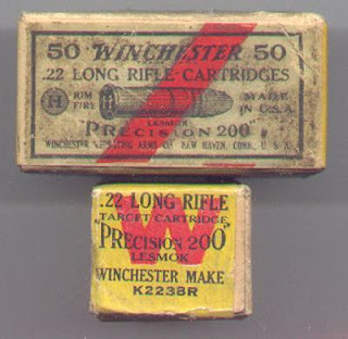 Antique 22 Winchester Box Rare Precision 200