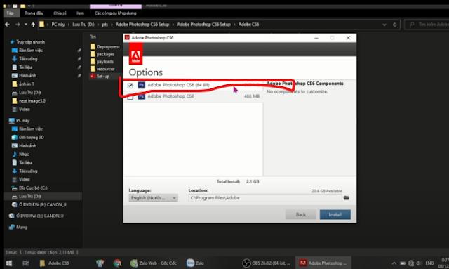 cách cài đặt Adobe photoshop cs6 full crack