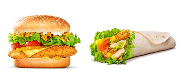 «Чикен Карри» и «Чикен Карри ролл» в Бургер Кинг, «Чикен Карри» и «Чикен Карри ролл» в Burger King, «Чикен Карри» и «Чикен Карри ролл» в Бургер Кинг состав цена стоимость пищевая ценность Россия 2018