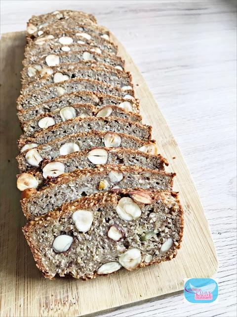 glutensiz ekmek, yemiş ekmek, çekirdekli ekmek, fındıklı ekmek