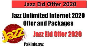 Jazz Eid Offer 2020