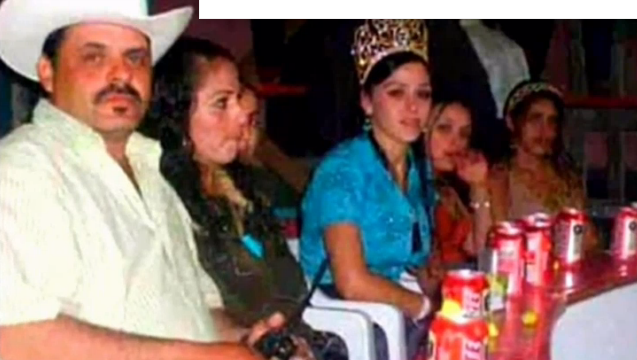 Emma S Father Inés Coronel Is On Left Wearing The Crown