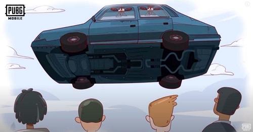 Lái một chiếc ô tô nhảy là vô cùng độc đáo